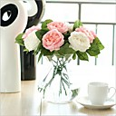 cheap Artificial Plants-Artificial Flowers 5 Branch Modern Style Roses Tabletop Flower