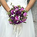 cheap Wedding Flowers-Wedding Flowers Round Roses Bouquets Wedding / Party/ Evening Satin / Silk / Bead / Rhinestone