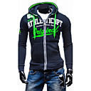 cheap Necklaces-Men's Sports Active Long Sleeve Hoodie Jacket - Letter Hooded