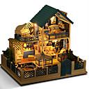 preiswerte Zubehör für Puppen-Puppenhaus Modellbausätze Heimwerken Haus Naturholz Klassisch Stücke Kinder Unisex Spielzeuge Geschenk