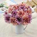 זול סימני סמן-פרחים מלאכותיים 2 ענף סגנון ארופאי פרחים נצחיים פרחים לשולחן