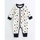 cheap Baby Boys' One-Piece-Baby Unisex One-Pieces, Cotton Spring/Fall Long Sleeves White