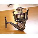 hesapli Balık Oltaları Makaraları-Balıkçılık Reel Rulman Spinning Makaralar 5.2:1 Dişli Oranı+12 Rulmanlar El Yön Değiştirilebilir Deniz Balıkçılığı / Tatlı Su Balıkçılığı / Balık Yemi - X3-4000 / Genel Balıkçılık