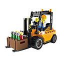 povoljno Building Blocks-ENLIGHTEN Igračke auti Kocke za slaganje Građevinski set igračke Poučna igračka Viličar Viličar Uniseks Dječaci Djevojčice Igračke za kućne ljubimce Poklon
