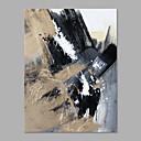 baratos Pinturas Abstratas-Pintura a Óleo Pintados à mão - Abstrato Estilo Moderno Tela de pintura