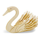 cheap 3D Puzzles-3D Puzzle Jigsaw Puzzle Wood Model Dinosaur Plane / Aircraft Swan DIY Wooden Wood Classic Kid's Unisex Gift