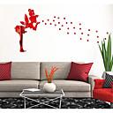 halpa Seinätarrat-Koriste-seinätarrat - Peilitarrat Abstrakti / Muodot / 3D Olohuone / Makuuhuone / Tyttöjen huone / Pestävissä