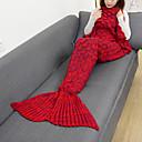 cheap Eyebrow Brushes-Emergency Blanket Blanket Travel Blanket Casual/Daily Mermaid