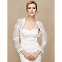 cheap Wedding Wraps-Lace Wedding / Party / Evening Women's Wrap With Lace Shrugs