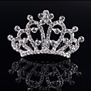cheap Party Headpieces-Crystal / Rhinestone / Alloy Tiaras / Hair Combs with 1 Wedding / Special Occasion / Birthday Headpiece