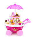 cheap Toy Abacuses-Ice Cream Cart Toy Toy Car Toy Food / Play Food Pretend Play Ship Ice Cream Simulation Plastics Plastic Girls' Kid's Gift 1pcs