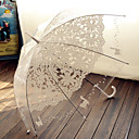"cheap Wedding Umbrellas-Hook Handle Wedding Special Occasion Masquerade Beach Umbrella Umbrellas 38.2""(Approx.97cm)"