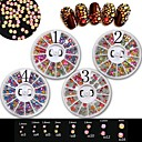 cheap Nail Glitter-1 pcs Glow nail art Manicure Pedicure Daily Acrylic / Fashion