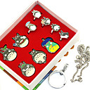 cheap LED Bi-pin Lights-Cosplay Accessories Inspired by My Neighbor Totoro Ran Mao Anime Cosplay Accessories Rings Alloy