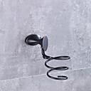 baratos Suportes de Escova de Dentes-Prateleira de Banheiro Moderno / Contemporâneo Metal 1 Pça. - Banho do hotel Montagem de Parede
