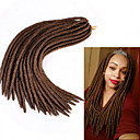 cheap Hair Braids-Braiding Hair Crochet / Havana Dreadlocks / Faux Locs 100% kanekalon hair / Kanekalon 24 roots / pack Hair Braids Dreadlock Extensions / Dreads Locs / 100% kanekalon hair