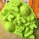 olcso Konyhai eszközök-Bakeware eszközök Silica Gel Sütés eszköz / Kreatív Konyha Gadget Mert főzőedények / Kenyér / Csokoládé süteményformákba 1db