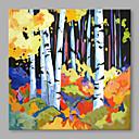 halpa Abstraktit maalaukset-Hang-Painted öljymaalaus Maalattu - Abstrakti Abstrakti Kangas