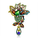 cheap Brooches-Women's Brooches - Flower Fashion, Euramerican Brooch Assorted Color For Special Occasion / Event / Party / Daily / Casual