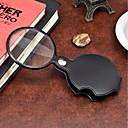 abordables Artículos básicos de oficina-1pcs herramienta portable de la lectura de la lupa de la lupa de la lupa portable de 60m m para el color del ramdon de la lectura de la