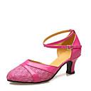 baratos Sapatos de Dança Latina-Mulheres Sapatos de Dança Moderna Materiais Customizados / Courino Salto Recortes Salto Personalizado Personalizável Sapatos de Dança