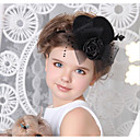 cheap Party Headpieces-Leather Cotton Hair Clip 1 Wedding Special Occasion Halloween Anniversary Birthday New Baby Party / Evening Headpiece