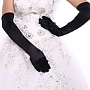 cheap RC Parts & Accessories-Spandex Opera Length Glove Bridal Gloves / Party / Evening Gloves With Rhinestone