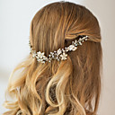 cheap Party Headpieces-Rhinestone / Alloy Headbands / Headwear / Head Chain with Floral 1pc Wedding / Special Occasion / Anniversary Headpiece