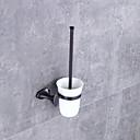 cheap Bathroom Accessory Set-Toilet Brush Holder Modern / Contemporary Metal 1 pc - Hotel bath Wall Mounted
