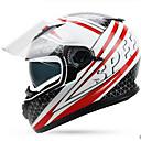 cheap Motorcyle Helmets-YOHE YH-970 Motorcycle  Helmet Double Lens Helmet Men & Women Winter Helm Cold Boots Electric Car Winter 970 White Powder By Pink Order