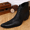 cheap Women's Boat Shoes-Unisex Shoes Nappa Leather Fall Winter Formal Shoes Combat Boots Bootie Motorcycle Boots Fashion Boots Riding Boots Cowboy / Western Boots