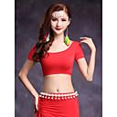 cheap Belly Dance Wear-Belly Dance Tops Women's Training Modal Short Sleeve Top
