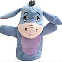 baratos Marionetes-Fantoches de dedo Brinquedo Educativo Rabbit Urso Tiger Animais Pano de Algodão Crianças Para Meninas Brinquedos Dom