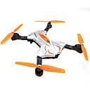 baratos Quadicópteros CR & Multirotores-RC Drone Skytech TK111 4CH 6 Eixos 2.4G Com Câmera HD 0.3MP 480P Quadcópero com CR Luzes LED / Retorno Com 1 Botão / Vôo Invertido 360°