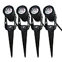 cheap Car Interior Lights-JIAWEN 4pcs Warm White / Cold White 85-265 V Decoration Garden Lights