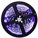 baratos Faixas de Luzes LED-5m Faixas de Luzes LED Flexíveis 300 LEDs 5050 SMD Branco Quente / Branco / Azul Cortável / Auto-Adesivo 12 V 1pç