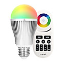cheap LED Smart Bulbs-9W 900lm E27 LED Smart Bulbs A60(A19) 18 LED Beads SMD 5730 WiFi Infrared Sensor Dimmable Light Control APP Control Remote-Controlled