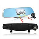 billige Smartklokker-D860 1080p Bil DVR 170 grader Bred vinkel 4.3 tommers Dash Cam med G-Sensor / Parkeringsmodus / Bevegelsessensor Nei Bilopptaker / Loop-opptak / auto av / på / Innebygd Mikrofon / Fotografi