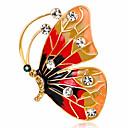 abordables Tocados de Fiesta-Mujer Broche - Cristal, Diamante Sintético Mariposa, Animal Personalizado, Lujo, Clásico Broche Colores Surtidos Para Navidad / Boda / Fiesta