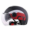 preiswerte Motorradhelme-Halber Helm Formschluss Kompakt Luftdurchlässig Beste Qualität Sport ABS Motorradhelme