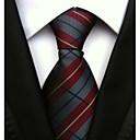 זול אביזרים לגברים-עניבת צווארון - פסים עבודה / בסיסי בגדי ריקוד גברים