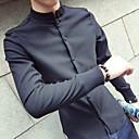 tanie Adidasy męskie-Koszula Męskie Bawełna Jendolity kolor / Golf / Długi rękaw