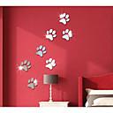 preiswerte Wand-Sticker-Dekorative Wand Sticker - Spiegel Wandsticker Abstrakt / 3D Jungen Zimmer / Mädchen Zimmer / Kinderzimmer / Waschbar