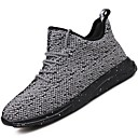 cheap Men's Slip-ons & Loafers-Men's Light Soles Net / Tulle Summer / Fall Comfort Sneakers Dark Blue / Gray / Red
