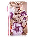 cheap Cell Phone Cases & Screen Protectors-Case For Huawei P9 Lite Huawei Card Holder Wallet with Stand Flip Full Body Cases Flower Hard PU Leather for P10 Lite P10 Huawei P9 Lite