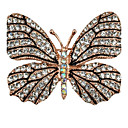 cheap Pressed Powders-Women's Brooches - Butterfly, Animal Brooch Gold For Party / Casual / Evening Party