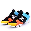 זול נעלי ספורט לגברים-בגדי ריקוד גברים נעליים רשת אביב / סתיו חדשני נעלי אתלטיקה ריצה לבן / שחור / כתום