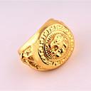 رخيصةأون خواتم الرجال-للرجال خاتم - مطلي بذهب وردي تصميم فريد, بانغك 9 / 10 ذهبي من أجل عيد ميلاد / عمل / هدية