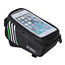 preiswerte Fahrradrahmentaschen-B-SOUL Waterproof / Handy-Tasche / Fahrradrahmentasche 5.7 Zoll Touchscreen Radsport für iPhone 5c / iPhone 4/4S / Samsung Galaxy S4 / iPhone 8/7/6S/6