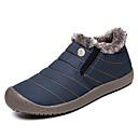 baratos Botas Masculinas-Homens Materiais Customizados Outono / Inverno Conforto Tênis Caminhada Botas Curtas / Ankle Preto / Azul Marinho